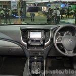 2015 Mitsubishi Triton dashboard at the 2014 Thailand International Motor Expo