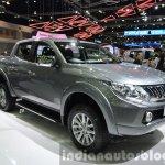 2015 Mitsubishi Triton front three quarters at the 2014 Thailand International Motor Expo