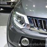 2015 Mitsubishi Triton headlamp left at the 2014 Thailand International Motor Expo