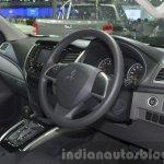 2015 Mitsubishi Triton interior at the 2014 Thailand International Motor Expo