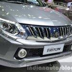 2015 Mitsubishi Triton nose at the 2014 Thailand International Motor Expo