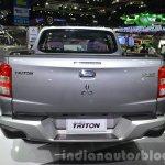 2015 Mitsubishi Triton rear at the 2014 Thailand International Motor Expo