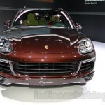 2015 Porsche Cayenne Facelift front at the 2014 Guangzhou Auto Show