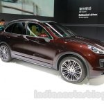 2015 Porsche Cayenne Facelift front quarter at the 2014 Guangzhou Auto Show