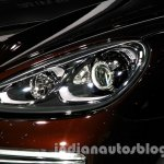 2015 Porsche Cayenne Facelift headlight at the 2014 Guangzhou Auto Show