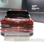 2015 Porsche Cayenne Facelift rear at the 2014 Guangzhou Auto Show