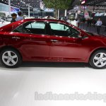2015 Toyota Camry facelift side at the Guangzhou Auto Show 2014