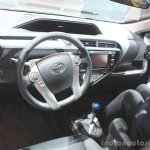 2015 Toyota Prius c dashboard at the 2014 Los Angeles Motor Show