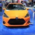 2015 Toyota Prius c front at the 2014 Los Angeles Motor Show