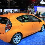 2015 Toyota Prius c rear three quarters at the 2014 Los Angeles Motor Show