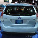 2015 Toyota Prius v rear at the 2014 Los Angeles Motor Show