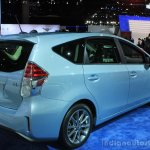 2015 Toyota Prius v rear three quarters at the 2014 Los Angeles Motor Show
