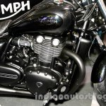 2015 Triumph Thunderbird Night Storm engine at EICMA 2014