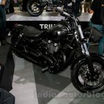 2015 Triumph Thunderbird Night Storm front quarter at EICMA 2014