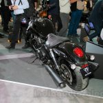 2015 Triumph Thunderbird Night Storm rear quarter at EICMA 2014