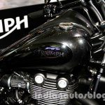 2015 Triumph Thunderbird Night Storm tank at EICMA 2014