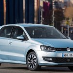2015 VW Polo BlueMotion front three quarter