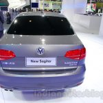 2015 VW Sagitar facelift rear at Guangzhou Auto Show 2014
