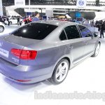 2015 VW Sagitar facelift rear quarters at Guangzhou Auto Show 2014