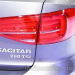 2015 VW Sagitar facelift taillight at Guangzhou Auto Show 2014