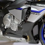 2015 Yamaha YZF-R1 M engine at EICMA 2014