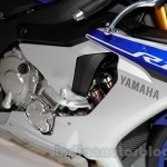 2015 Yamaha YZF-R1 engine at EICMA 2014