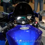 2015 Yamaha YZF-R1 instrument panel at EICMA 2014