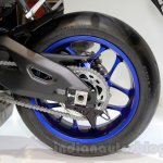 2015 Yamaha YZF-R1 rear wheel at EICMA 2014
