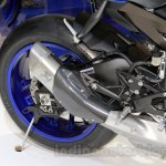2015 Yamaha YZF-R1 silencer at EICMA 2014