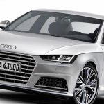 2016 Audi A4 new rendering