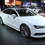 2016 Audi A7 front three quarters left at the 2014 Los Angeles Auto Show