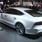 2016 Audi A7 rear three quarters at the 2014 Los Angeles Auto Show