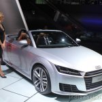 2016 Audi TT Roadster front three quarters left at the Los Angeles Auto Show 2014