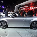2016 Audi TT Roadster side at the Los Angeles Auto Show 2014