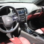 2016 Cadillac ATS-V Coupe dashboard at the 2014 Los Angeles Auto Show