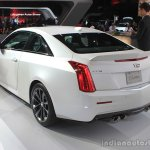 2016 Cadillac ATS-V Coupe rear three quarters at the 2014 Los Angeles Auto Show