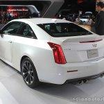 2016 Cadillac ATS-V Coupe rear three quarters at the 2014 Los Angeles Auto Show
