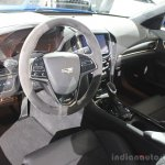 2016 Cadillac ATS-V Sedan cabin at the 2014 Los Angeles Auto Show