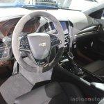 2016 Cadillac ATS-V Sedan cabin at the 2014 Los Angeles Auto Show
