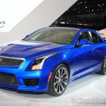 2016 Cadillac ATS-V Sedan front three quarters at the 2014 Los Angeles Auto Show