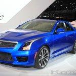 2016 Cadillac ATS-V Sedan front three quarters at the 2014 Los Angeles Auto Show