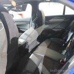 2016 Cadillac ATS-V Sedan rear seat at the 2014 Los Angeles Auto Show