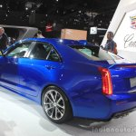 2016 Cadillac ATS-V Sedan rear three quarters at the 2014 Los Angeles Auto Show