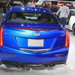 2016 Cadillac ATS-V Sedan rear view at the 2014 Los Angeles Auto Show