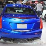 2016 Cadillac ATS-V Sedan rear view at the 2014 Los Angeles Auto Show
