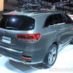 2016 Kia Sorento rear three quarters at the 2014 Los Angeles Auto Show