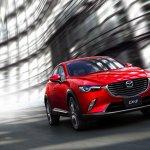 2016 Mazda CX-3 front quarter