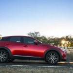 2016 Mazda CX-3 profile
