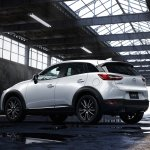 2016 Mazda CX-3 rear quarters