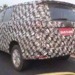 2016 Toyota Innova spied rear end